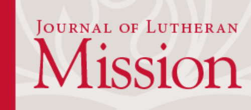 Journal of Lutheran Mission – Special Edition: December 2016