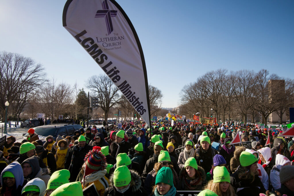 Lutherans head to Washington D.C. in 2014 March for Life