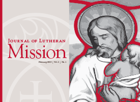 Journal of Lutheran Mission – February 2015