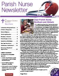Parish-Nurse-Newsletter-Image-Spring-2015