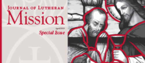 Journal of Lutheran Mission – April 2015