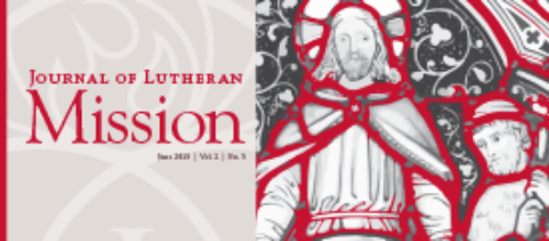 Journal of Lutheran Mission – June 2015