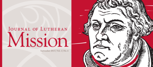 Journal of Lutheran Mission – September 2015