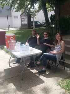 Summer Vicarage Street Evangelism in Philly