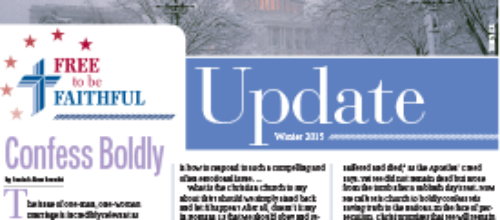 'Free to be Faithful' – Winter 2015 newsletter