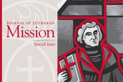 Journal of Lutheran Mission – December 2015