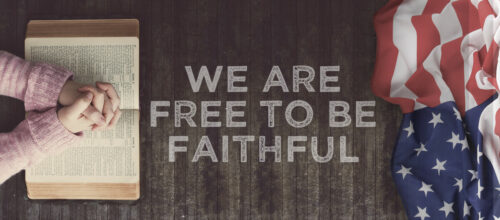 'Free To Be Faithful' – Spring 2017 newsletter