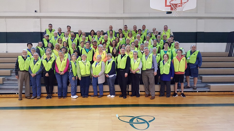 One of the biggest LERT trainings in LCMS Disaster Response History in Clinton Township, MI