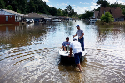 Help flood, fire victims – Pray. Give. Volunteer.