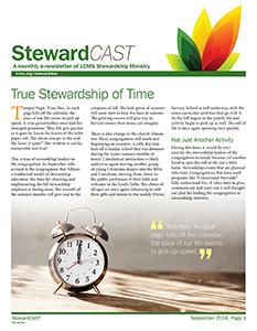 lcms september 2016 stewardcast newsletter
