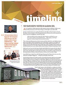LCMS Black Ministry 4th quarter 2016 TimeLine Newsletter