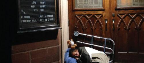 'My Night of Living Homeless'