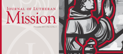 Journal of Lutheran Mission – December 2017