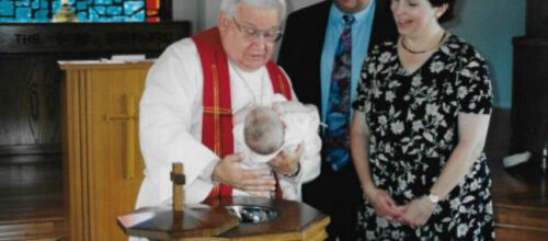 On The Sign Of The Cross In Baptism