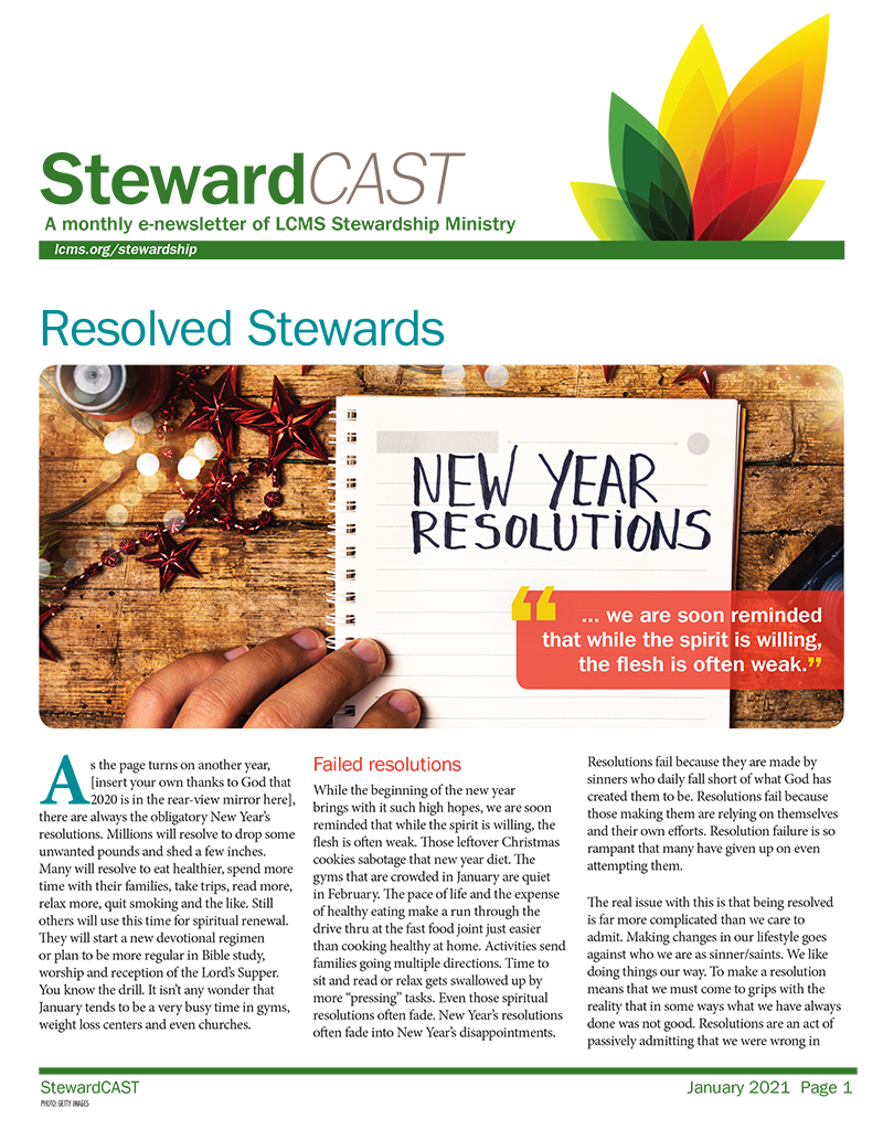 StewardCAST Newsletter